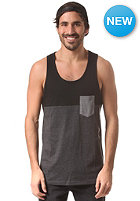 IRIEDAILY Block Pocket Tank Top black