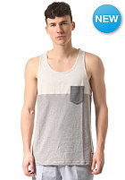 IRIEDAILY Block Pocket Tank Top grey-mel.