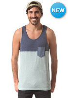 IRIEDAILY Block Pocket Tank Top mintgrey