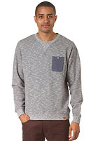 IRIEDAILY Brickhead Pocket Crew Sweatshirt navy