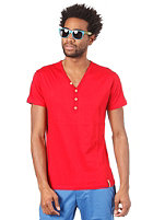 IRIEDAILY Clerk 2 V-Neck S/S T-Shirt dark red