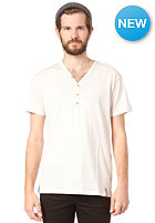 IRIEDAILY Clerk 2 V-Neck S/S T-Shirt ecru mel.