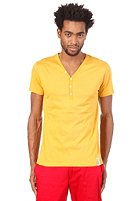 IRIEDAILY Clerk 2 V-Neck S/S T-Shirt gold yellow