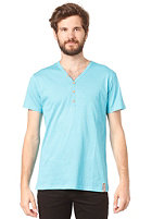 IRIEDAILY Clerk 2 V-Neck S/S T-Shirt hawaii blue