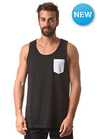 IRIEDAILY Contrast Pocket Tank Top black