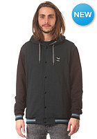 IRIEDAILY Daily College Hooded Zip Sweat deep lake