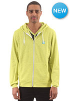 IRIEDAILY Desire 2 Effect Hooded Zip Sweat neon yel melange