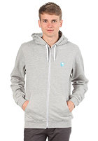IRIEDAILY Desire Effect Hooded Zip Sweat grey-mel.