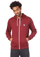 IRIEDAILY Desire Effect Hooded Zip Sweat maroon