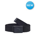 IRIEDAILY Flag Rubber Belt black