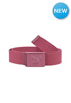IRIEDAILY Flag Rubber Belt maroon