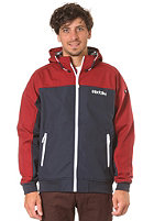 IRIEDAILY Fusion 2 Hooded Jacket dark red