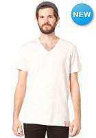 IRIEDAILY Gently 2 V-Neck S/S T-Shirt ecru mel.