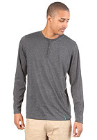 IRIEDAILY Henley L/S Shirt anthra mel.