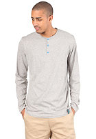 IRIEDAILY Henley L/S Shirt grey-mel.