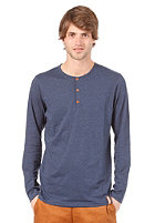 IRIEDAILY Henley L/S Shirt night sky