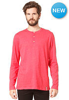IRIEDAILY Henley L/S T-Shirt red mel.