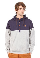 IRIEDAILY Hipster Block Hooded Sweat navy