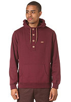 IRIEDAILY Hipster Hooded Sweat maroon melange