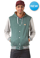 IRIEDAILY Irie College Hooded Zip Sweat forest mel.