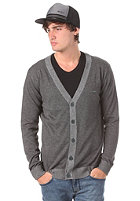 IRIEDAILY Irie Patch Knit Cardigan charcoal melange