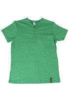 IRIEDAILY JR Clerk V-Neck S/S T-Shirt green mel.