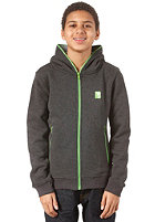 IRIEDAILY JR Full Hooded Zip Sweat anthra mel.