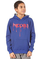 IRIEDAILY JR Upside Down 2 Hooded Sweat worker blue