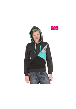 IRIEDAILY Kids Diagonal 2 Hooded Sweat anthracite melange