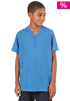 IRIEDAILY KIDS/ JR Clerk V-Neck S/S T-Shirt blue melange