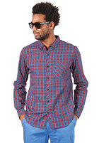 IRIEDAILY Kieran L/S Shirt blue red