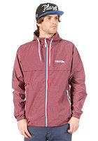 IRIEDAILY Melmentum Jacket maroon mel.