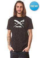IRIEDAILY Mesh Flag S/S T-Shirt black mel.
