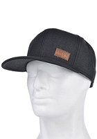 IRIEDAILY Patch Snap Cap black melange