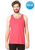 IRIEDAILY Pocket Tank Top red mel.