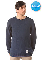 IRIEDAILY Recycled Denim Knit Sweat navy mel.