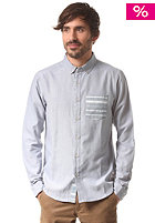 IRIEDAILY Schulze Chambray L/S greyblue