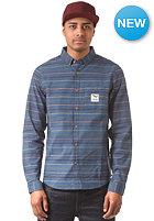 IRIEDAILY Schulze L/S Shirt steelblue