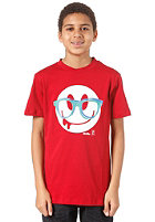 IRIEDAILY Slimey Smile S/S T-Shirt dark red