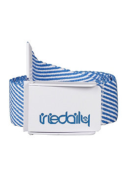IRIEDAILY Stainless Stripe Belt stripe blue