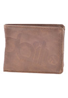IRIEDAILY Top 2 Punch Wallet chocolate