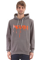 IRIEDAILY Upside Down 2 Hooded Sweat charc mel.