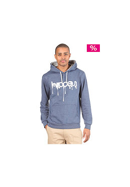 IRIEDAILY Upside Down 2 Hooded Sweat navy mel.