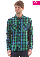 IRIEDAILY Valle L/S Shirt green blue