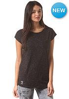 IRIEDAILY Womens 2Tone Mesh S/S T-Shirt black mel.
