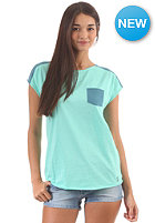 IRIEDAILY Womens 2Tone Pocket S/S T-Shirt mint