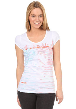 IRIEDAILY Womens Am Meer S/S T-Shirt white