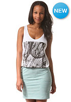 IRIEDAILY Womens Artflower Tank Top white mel.