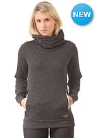 IRIEDAILY Womens Cushy Turtle Hooded Sweat black