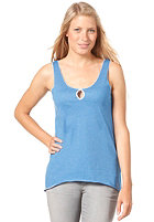 IRIEDAILY Womens Edgy Tank Top blue mel.